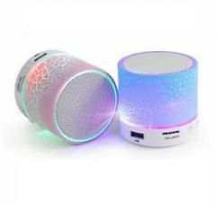 Wireless Mini LED Lights Bluetooth Speaker for Rs. 355