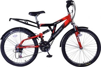 Buy Hero Blade 26T S365BBDBD01 Hybrid Cycle  (Red, Black) for Rs. 5,999