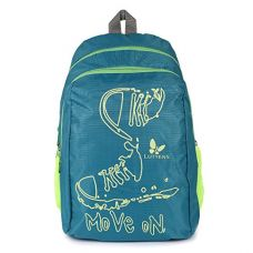 Buy Lutyens Polyester Green Lime School Bags (17 Liters) (Lutyens_197) from Amazon