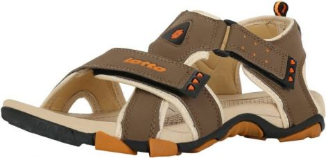Lotto Men Brown Beige Sandals for Rs. 1,199