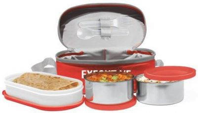 Milton Executive Lunch 3 Containers Lunch Box  (350 ml) for Rs. 297