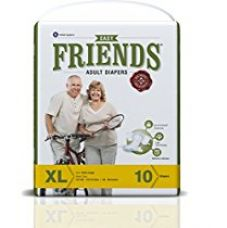 Friends Adult Diaper (Basic) – Extra Large (10 Count) for Rs. 363