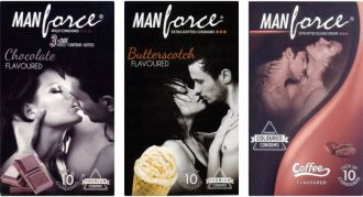 Buy Manforce Chocolate, Butterscotch, Coffee Condom(Set of 3, 30S) for Rs. 178
