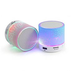 Buy Roboster Rechargeable Wireless Bluetooth Speaker With Led (Color May Vary) from Amazon