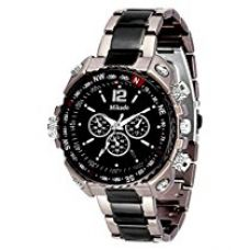 Buy Mikado Analogue Black Dial Men's Watch -Rs2 from Amazon