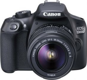 Get 10% off on Canon EOS 1300D DSLR Camera (Body with EF-S 18 - 55 IS II)  (Black)