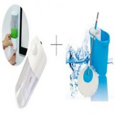 Buy Buy Single Soap Dispenser With Easy Magic Mop - SDISMOP from Rediff
