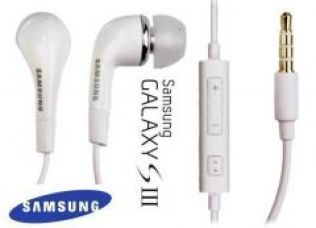 Samsung Handsfree Headphones Earphones Galaxy S4 S3 I9300 S5 Note3 for Rs. 125
