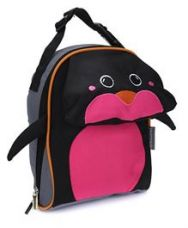 Flat 25% off on My Milestones Kids Lunch Bag Penguin Design - Navy Pink