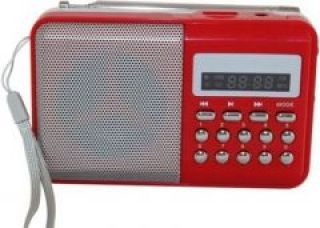 Flat 42% off on Portable Rechargeable Onlite/obit FM Radio With Sd,usb Aux Player