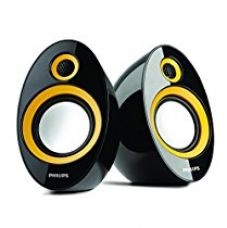 Philips SPA-60Y/94 speaker with USB Plug (Yellow) for Rs. 640