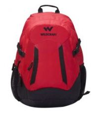 Flat 49% off on Wildcraft Anyat Red Backpack No