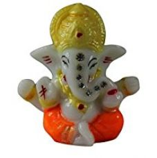 Buy Venus Creation Ganesh Idol For Car Dashboard | Home Decor | Gifting | Size 2.5 inches | Code DM1 (Color Assorted) from Amazon
