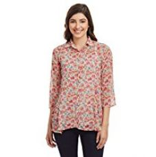 Buy Biba Women's Asymmetrical Hemline Shirt from Amazon
