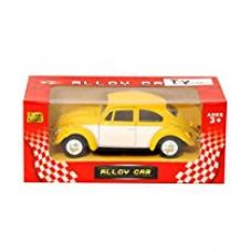Buy Toyhouse 1:32 DIE-CAST Pull Back Car For Children Yellow from Amazon