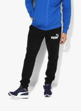 Flat 35% off on Puma Ess .1 Sweat , Fl, Cl Black Track Pants