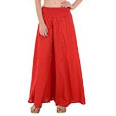 Skirt N Scarves Red Maxi Cotton Skirt for Women(Length-38 Inches) for Rs. 719