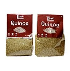 True Elements Gluten Free Quinoa 1kg (Semi Processed) Pack of 2 for Rs. 599