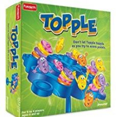 Buy Funskool Topple, Multi Color from Amazon