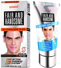 Emami Fair and Handsome Fairness Cream for Men, 60g with Fair and Handsome Instant Fairness Face Wash, 100g for Rs. 275