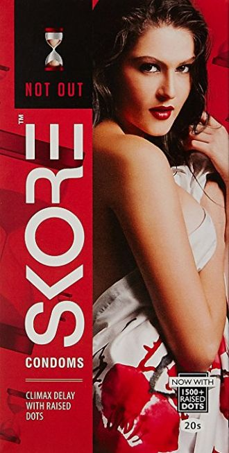 Buy Skore Condoms Notout - 20 Count from Amazon