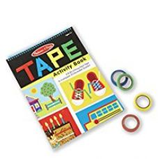 Melissa & Doug Tape Activity Book, Multi Color for Rs. 399
