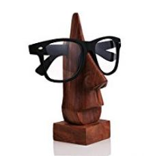Buy GREENTOUCH CRAFTS Quirky Hand Crafted Wooden Specs Stand, 6.5 inches from Amazon