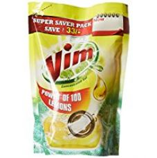 Buy Vim Concentrated Gel - 1 L (Lemon, Rupees 33 off) from Amazon