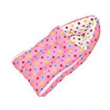Buy Orange and Orchid Baby Bedding Set Cum Sleeping Bag,Bed For Just Born from Amazon