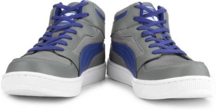 Buy Puma Rebound Mid Lite DP Men High Ankle Sneakers  (Grey) for Rs. 1,809