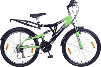 Buy Hero Blade 26T 26 T 18 Speed Hybrid Cycle  (Green, Black) for Rs. 6,499