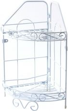 Buy Pearl Kitchen Rack Steel Kitchen Rack  (White) from Flipkart
