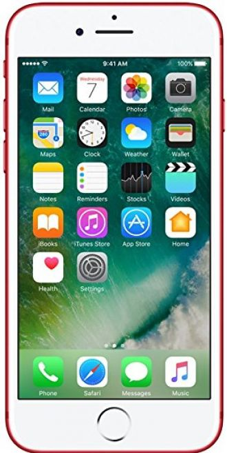 Apple iPhone 7 (Red, 128GB) for Rs. 65,200