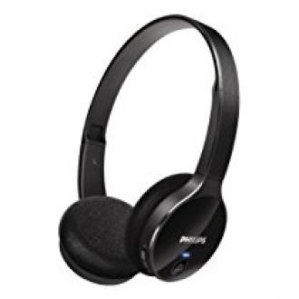 Buy Philips SHB4000/00 On-Ear Bluetooth Stereo Headset (Black) from Amazon