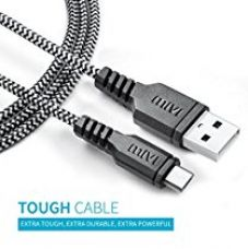 Mivi Tough Micro Usb Cable With Charging Speeds Up To 2.4Amps For Samsung, Lenovo, Lumia, Oneplus, Xiaomi,(Black) for Rs. 399