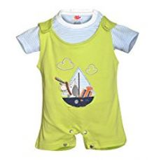 Buy Orange and Orchid Baby Boys Cotton Tops & Bottoms Sets (6-12 Months) from Amazon