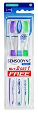 Buy Sensodyne Sensitive Toothbrush (2+1 Pack) from Amazon