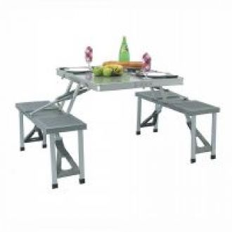 Buy Aluminium Picnic Folding Table from ShopClues