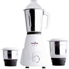 Flat 35% off on Kenstar KMA50W3S-DBB 500 W Mixer Grinder  (White, 3 Jars)
