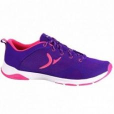 Flat 35% off on Domyos 360 Breathe Women's Fitness Shoes - Purple/Pink
