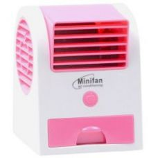 Flat 73% off on Car Home USB Or Battery Mini Water Fan Bladeless Air Cooler Conditioner - 03