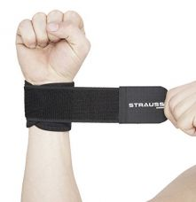 Strauss Wrist Support, Free Size (Black) for Rs. 144