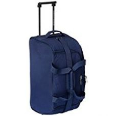 Buy American Tourister Polyester Blue Travel Duffle (11W (0) 01 002) from Amazon