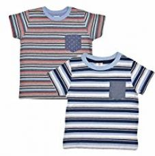 Buy Luke and Lilly Boys Printed Round Neck Cotton Half Sleeve T-Shirt Pack of 2(LNLKDSCMB004_4-5) from Amazon