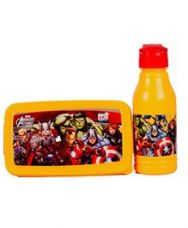Flat 70% off on Marvel Avengers Back To School Lunchbox Set - Yellow