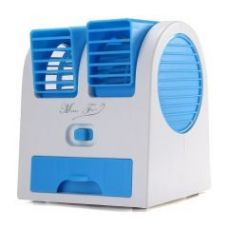 Get 61% off on Mini Fragrance Air Conditioner Cooling Fan Blue