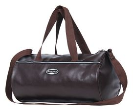 Buy POLE STAR Unisex Leatherette 26 L Tan Brown Duffel Gym Bag from Amazon