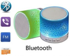 Buy Ruhi S10 Portable Bluetooth Mobile/Tablet Speaker  (Blue, 2.1 Channel) for Rs. 339