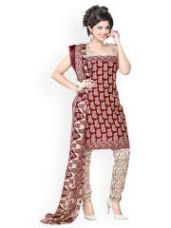 Get 65% off on Polycotton Unstitched Dress Material