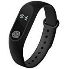 Buy Captcha Fitness Band with Heart Rate sensor/ Pedometer/ Sleep Monitoring fuctions from Amazon